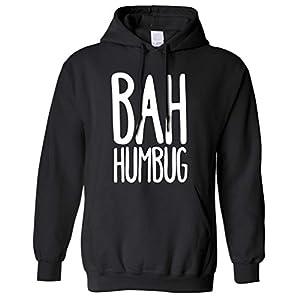 Bah Humbug Christmas Gift Idea Scrooge Hoodie