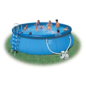 Talk to me about these cheap above ground pools blame teh for Really cheap pools