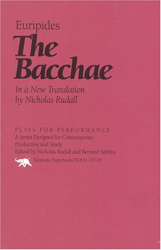 The Bacchae (Plays for Performance), EURIPIDES
