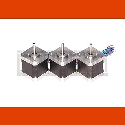 3 x stepper motor NEMA 17 2.5A Holding Torque 0,58 Nm (5,9 kg cm) CNC reprap diy grbl 3D printer