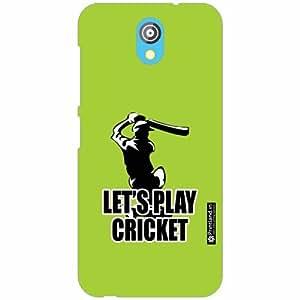 HTC Desire 526G Plus Back Cover - Silicon Cricket Designer Cases