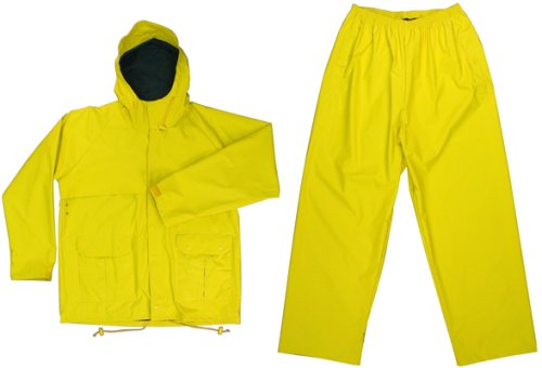 Yellow Nylon PVC Microlite 2 Piece Rainsuit - Buy Yellow Nylon PVC Microlite 2 Piece Rainsuit - Purchase Yellow Nylon PVC Microlite 2 Piece Rainsuit (Galaxy Army Navy, Galaxy Army Navy Mens Outerwear, Apparel, Departments, Men, Outerwear, Mens Outerwear)