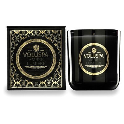 Voluspa Ambre Lumiere Clasic Maison Candle 12 oz