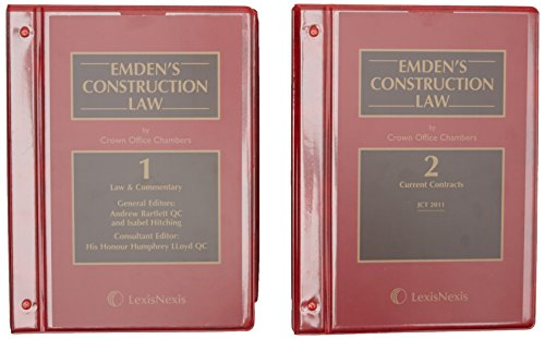 Emden's Construction Law by Crown Office ChambersFrom Butterworths Law