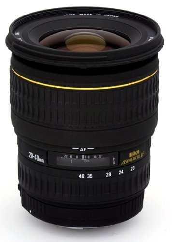 Sigma 20-40mm f/2.8 EX DG Aspherical Wide Angle Zoom Lens for Canon SLR Cameras