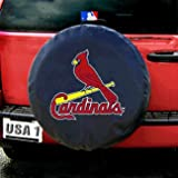 417DHR6PJ0L. SL160  St. Louis Cardinals MLB Licensed Black Tire Cover