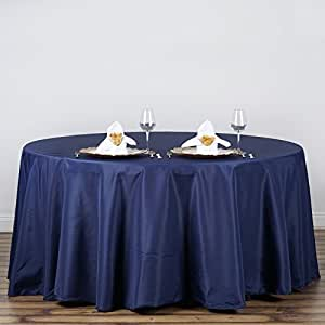 Linentablecloth 120 inch round polyester for 120 inch table linens