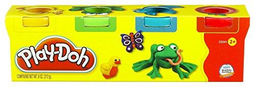 Play-Doh - Mini 4 pack con plastilina, juego creativo (Hasbro 23241148)