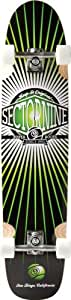 Sector 9 Cloud 9 Complete Skateboard, Green, 9.125-Inch x 40.25-Inch