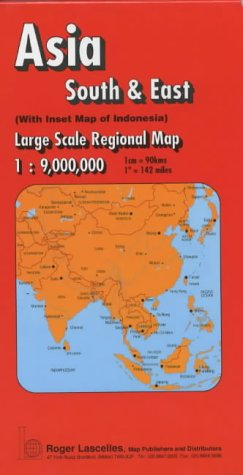 South and East Asia Regional Map (Red Cover)