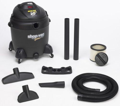 Shop-Vac 5862000 20-Gallon 6.5-Peak HP Quiet Deluxe Series Wet/Dry Vacuum (Shop Vac Quiet Series compare prices)