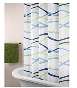 Eforgift 72 Inch By 78 Inch Polyester Waterproof Shower Curtain Fabric Sea Theme