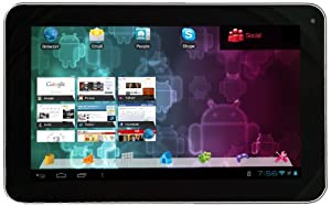 Visual Land Connect 9-Inch Tablet with 8GB Memory (White)