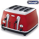 DeLonghi Icona Toaster - Red