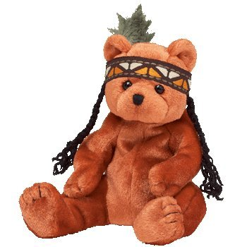 TY Beanie Baby - LITTLE FEATHER the Bear - 1