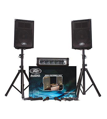 brand-new-peavey-audio-performer-pack-5-piece-portable-pa-system-with-two-pvi10-10-speaker-enclosure