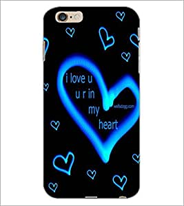 PrintDhaba Love D-2272 Back Case Cover for APPLE IPHONE 6S PLUS (Multi-Coloured)