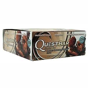 Quest Nutrition Protéine Barre Double Chocolat Chunk 12 x 60 gm