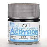 【水性アクリル樹脂塗料】新水性カラー アクリジョン 焼鉄色 N76