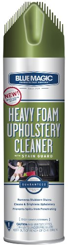 BlueMagic 914 Heavy Foam Upholstery Cleaner with Stain Guard – 22 oz.