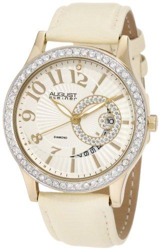 August Steiner Women's ASA842YG Diamond Quartz Watch