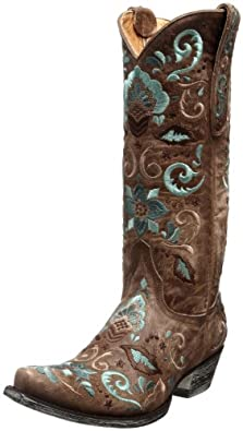 Old Gringo Women's Deborah Rico L829-3 Boot,Oryx,5 M US