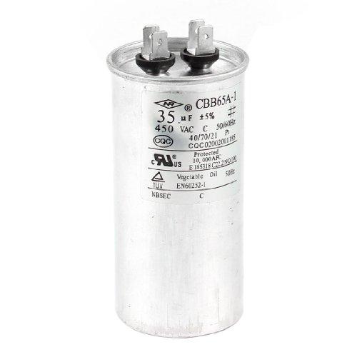 Air Conditioner Spare Parts Motor Running Capacitor 35uF 5% CBB65A-1