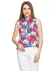 TARAMA Floral Print Top for womens.