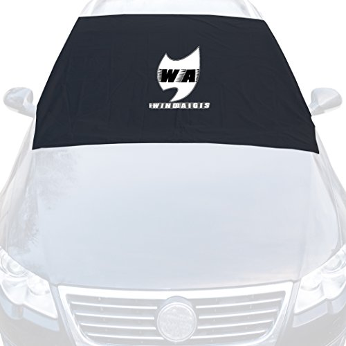 Car Windshield Snow Cover Magnetic by WindAigis - No Scraper and Ice - Wipers Protection - Storage Pouch Bag - Waterproof Dustproof High Quality Material - 6 Magnets - Fits Most Vehicles - 48