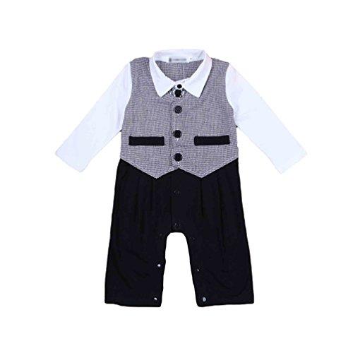 youjia baby jungen gentleman spielanzug overall outfits. Black Bedroom Furniture Sets. Home Design Ideas