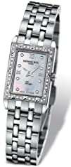 Raymond Weil Ladies Stainless Steel Watch with Mother Of