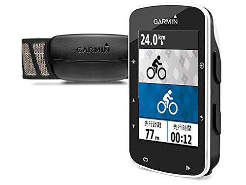ガーミン エッジ 520J 日本版 心拍センサーセット GPS ブルートゥース (136903)