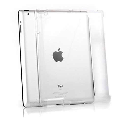 Aauxx Glass Clear Transparent Case For Apple Ipad 2 (Transparent)