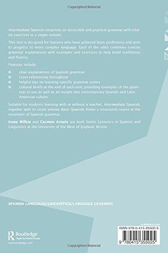 Intermediate Spanish: A Grammar and Workbook (Grammar Workbooks)