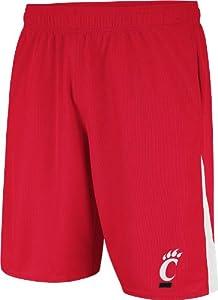 Buy Cincinnati Bearcats Red adidas Football Sideline Shorts by adidas