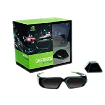 nVidia GeForce Wireless 3D Stereo Glasses Kit with Emitter
