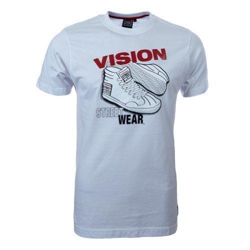 Vision Street Wear Sneaker T-Shirt , weiß