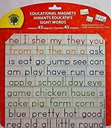 Educational Word & Letter Magnets ~ Sight Words