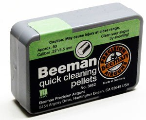 Beeman Quick Cleaning Pellets .22 Cal, 80ct
