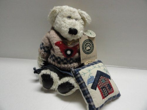 Boyds Bears Delmarva V. Crackenpot Retired Quilt Patch Bear - 1