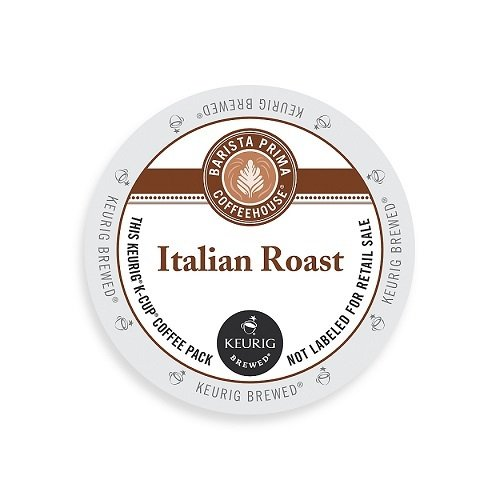 Barista Prima Coffeehouse Dark Roast Extra Bold K-Cup for Keurig Brewers, Italian Roast Coffee (Count of 96) (Italian Roast K Cups Coffee compare prices)