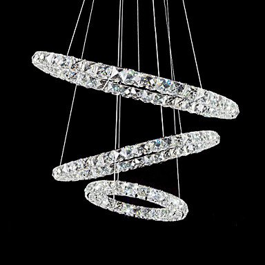 Led Crystal Pendant, Modern Stylish Tricyclic Metal Plating coupons 2015