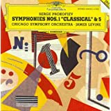 Prokofiev: Symphony No. 1 in D Major, Op. 25 (Classical); Symphony No. 5 in B Flat Major, Op. 100 ~ Sergei Prokofiev