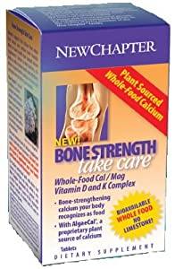 New Chapter Bone Strength Take Care Tablets, 120-Count Bottle ( Multi-Pack)