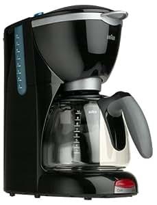 Braun KF510-BK AromaDeluxe 10-Cup Coffeemaker, Black