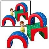 Children's Factory Tunnel Trilogy Soft Shapes Play Set