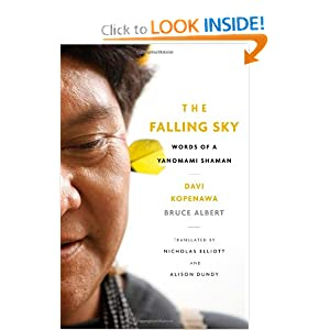 The Falling Sky: Words of a Yanomami Shaman by Davi Kopenawa, Bruce Albert, Nicholas Elliott and Alison Dundy