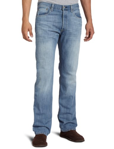Levi's Men's 501 Original Fit Jean, Light Mist,