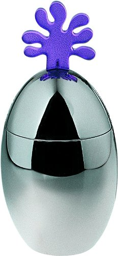 Alessi Ovo Kitchen Box, Violet Knob (JL02 V)