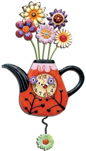 allen-designs-p9014-orologio-fioritura-te-resina-design-di-michelle-allen-31-cm